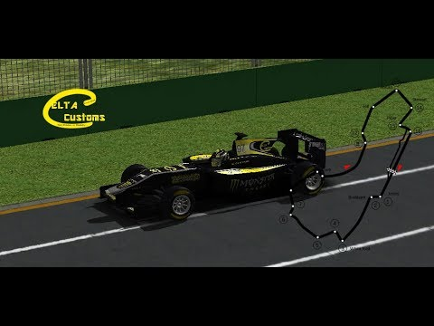 [RA - Formula 2 2017] Test Lap Melbourne