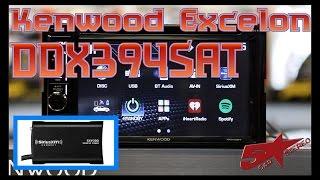 The Kenwood Excelon DDX394SAT unboxing
