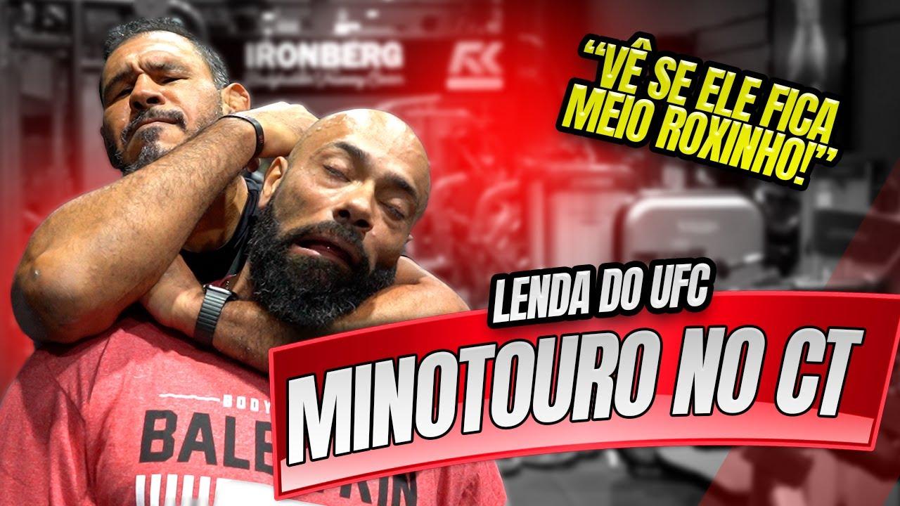 UFC NO CT - MINOTOURO VISITOU E TREINOU AQUI !