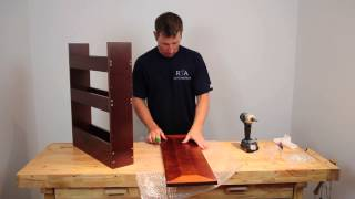 """how To"" Cabinet Assembly - Base Spice Rack 9"" : Rta Cabinet Store.com"