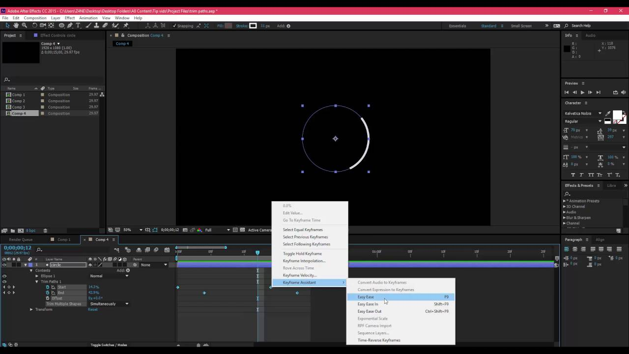 Dear Ueno: How do I use After Effects to create motion studies?