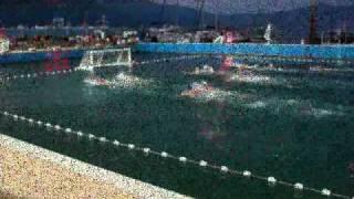 Water Polo match croatia russia.wmv