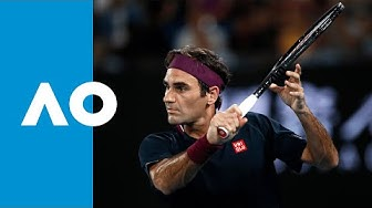 Roger Federer vs Filip Krajinovic - Match Highlights (2R) | Australian Open 2020