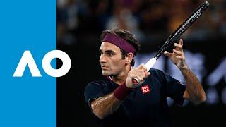 Roger Federer vs Filip Krajinovic - Match Highlights (2R) | Australian Open 2020