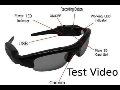 28af5c7e214 Test Video  Cheap Chinese Spy Camera Sunglasses - YouTube