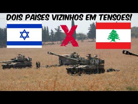 (ISRAEL X LÍBANO) Confrontos São Realizados Entre As Fronteiras Dos Dois Países -MILITARISMO-