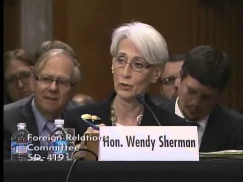 Senator Johnson at the Foreign Relations Committees