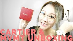 Cartier Love Ring MVMT Watches & Amazon Unboxing | Cherry Tung