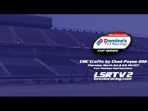 Domino's TYJ Cup Series CNC Crafts by Chad Payne 200