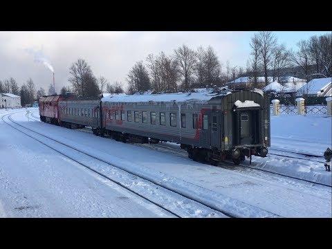 Путешествие по железной дороге СПб - Псков через Дно (+upgradepskov18)