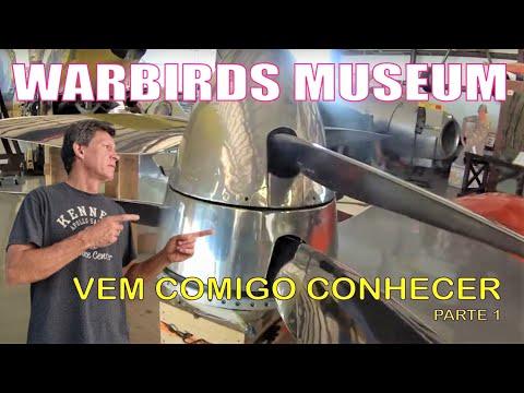 "WARBIRDS ADVENTURES MUSEUM - Kissimmee Florida -  1 - by EDUARDO ""DUDA"" MOTTA CHANNEL"