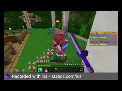 Minecraft: Annihilation FAILTAGE [15] Destroying Red