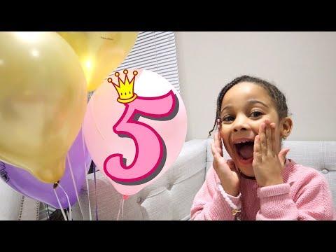 CALI'S 5th BIRTHDAY!!