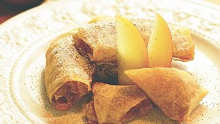 Easy-to-make Apple Pie Spring Rolls-easier Than Apple Pie( Recipe ) 春巻きアップルパイ