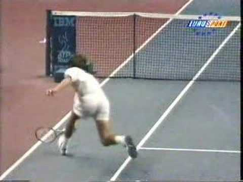 Unbelievable Tennis Accident