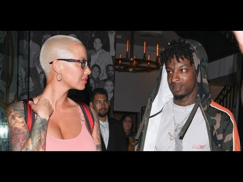21 Savage tells Amber Rose he's going to cut off his Dreads.