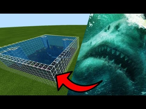 How To Make A MEGALODON Farm In Minecraft PE