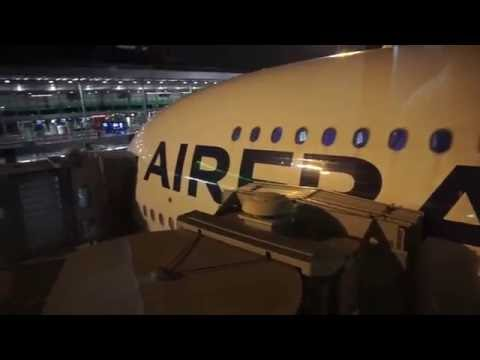 Air France Premium Economy   A380 Upper Deck   Paris to Shanghai & AF Salon Lounge Review