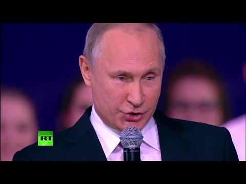 Путин вручает Всероссийскую премию «Доброволец России-2017»