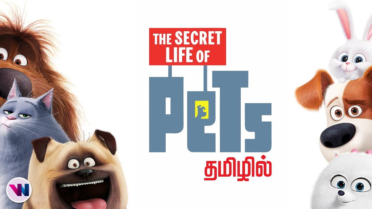 PETS tamil dubbed animation movie comedy adventure vijay nemo