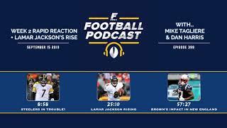 Week 2 Rapid Reaction + Lamar Jackson's Rise (Ep. 399)
