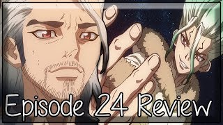 The Stone Wars Begins in Season 2 - Dr. Stone Episode 24 Review