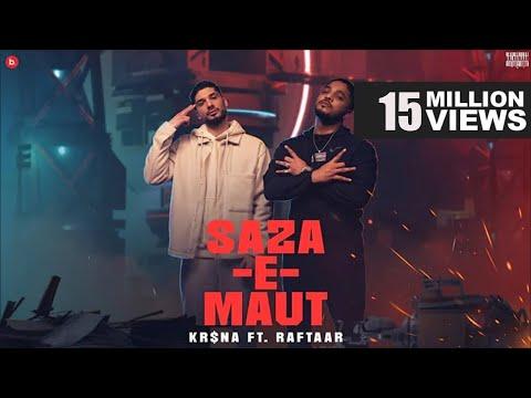 KR$NA Ft. RAFTAAR  - Saza-E-Maut | Official Music Video | (Indian Drill)