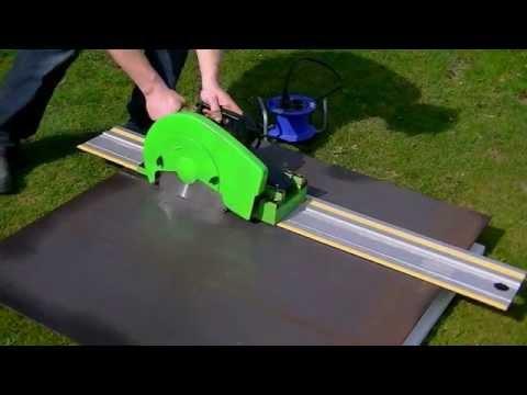 Building a Steel Cutting Track Saw