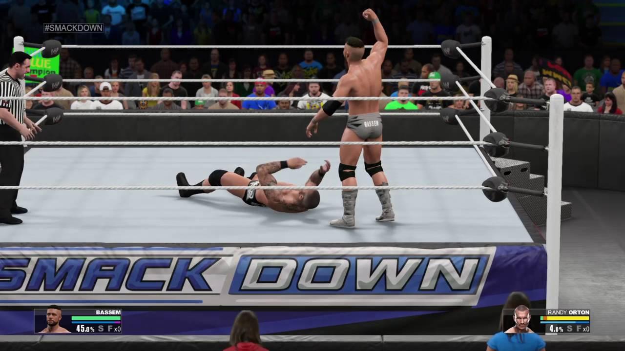 Download WWE 2K15 Mode Carrière : Bassem vs Randy Orton