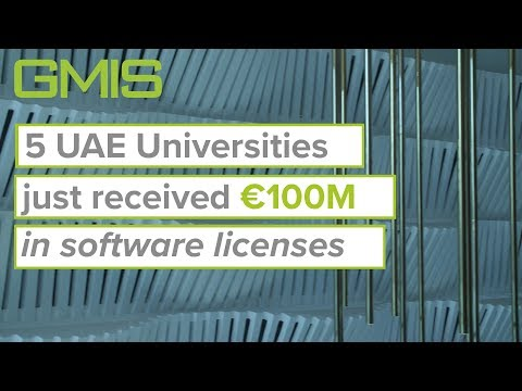 Five UAE universities have just received a €100M grant from Siemens
