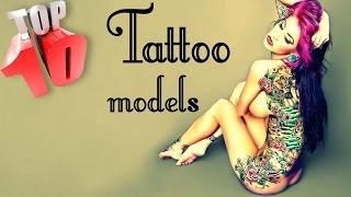 Сute Tattoo Girls Models 2016 HD / TOP 10