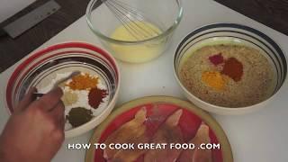 Crispy Chicken Tenders Recipe Crunchy Kfc Fillet Homemade