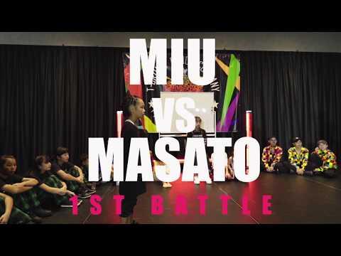 T-CROWN BATTLE MASATO VS MIU