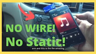 Wireless FM Transmitter for Car Radio with Hands Free Kit