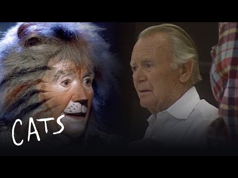 Casting Sir John Mills as Gus the theatre Cat - Behind the Scenes | Cats the Musical