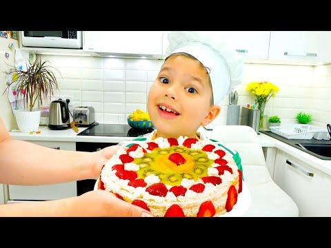 Егорка приготовил Праздничный Торт