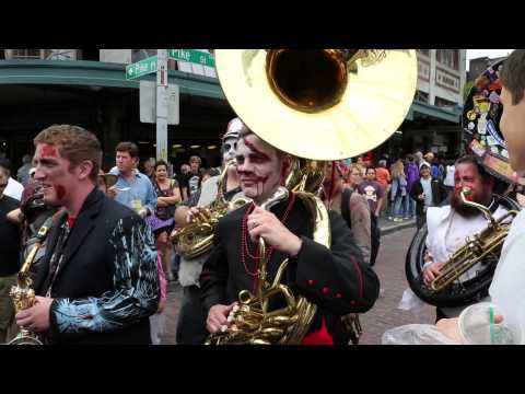 Dead Music Capital Band at Honk Fest West - Pike's Place Market, Seattle, WA