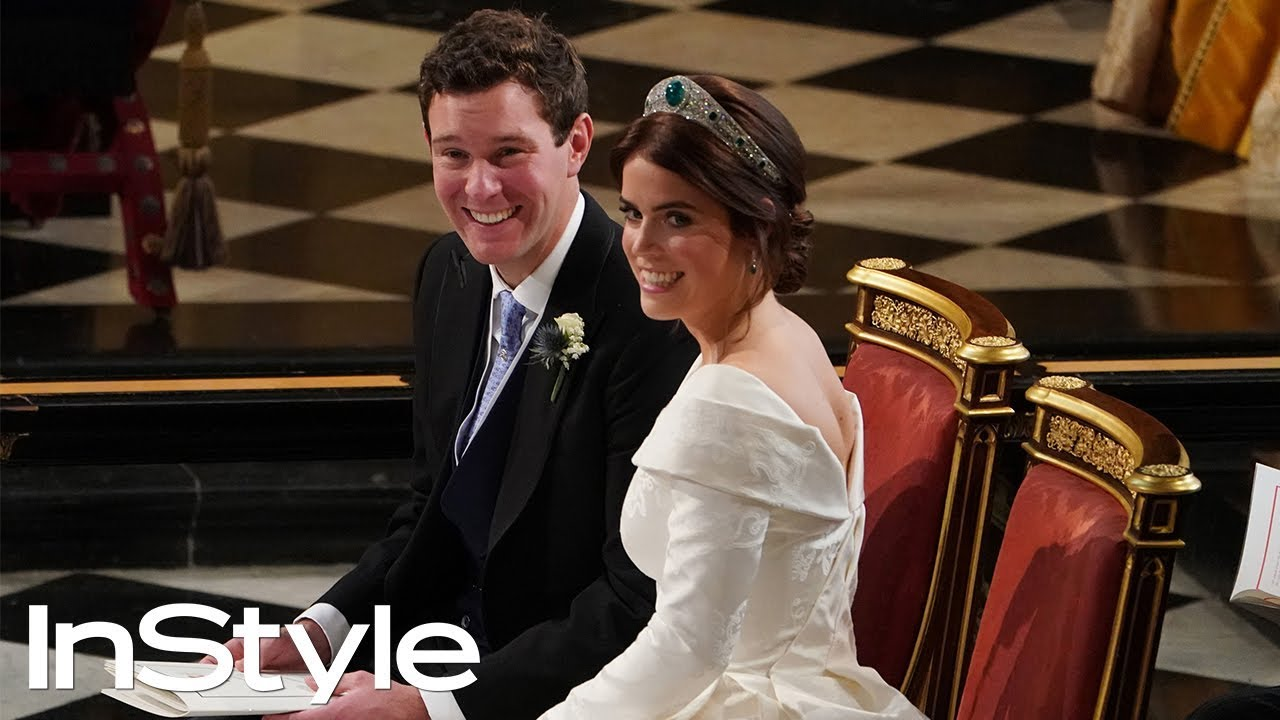 Princess Eugenie Wedding.Princess Eugenie And Jack Brooksbank Wedding Highlights British Royals Instyle