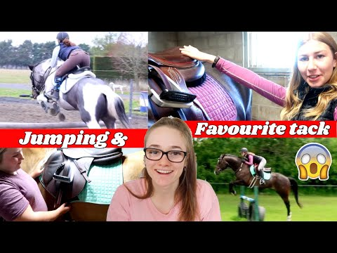 JUMPING OUR HORSES ft. OUR FAVOURITE TACK BRANDS || Collab 🦄 from YouTube · Duration:  11 minutes 30 seconds