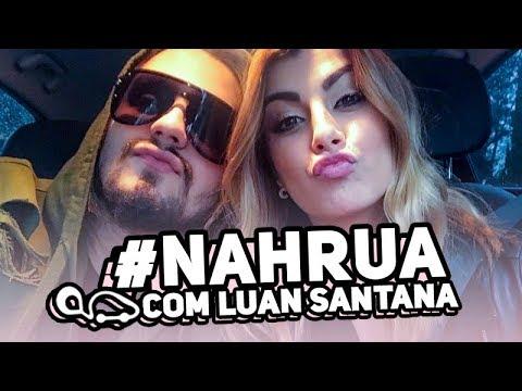 🚗  #NahRua com Luan Santana!!!