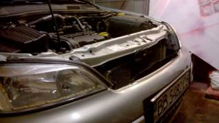Как снять передний бампер - Opel Astra G