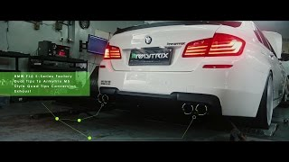 BMW F10 520i | Armytrix Quad-Tips Valvetronic Exhaust | Armytron Tuning Box in Indonesia