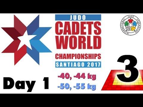 World Judo Championship Cadets 2017: Day 1 - Tatami 3
