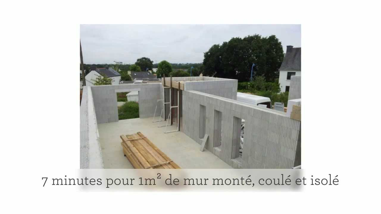 Clairson construction de maisons bbc avec blocs bancher for Maison en beton banche