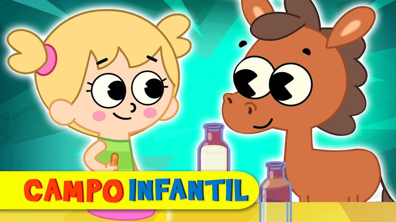 ¡Hay que ser amables y respetuosos! - Canciones infantiles animadas   Campo Infantil