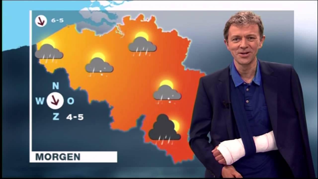 Weerman Frank Deboosere Breekt Elleboog Bij Fietsongeval
