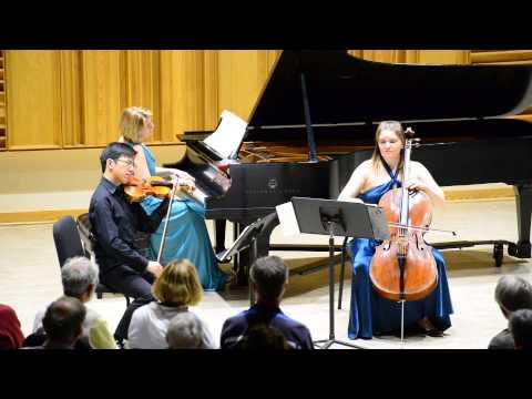 Arno Babadjanian Piano Trio in Chautauqua. Excerpts