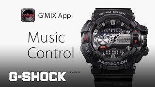 G-SHOCK GBA-400 - Music Control with G'MIX App v1.0