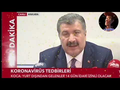 Corona Virüsü Son Gelişmeleri Türkiye | Corona Virüsü Türkiye'ye Giriş #EvdeKal