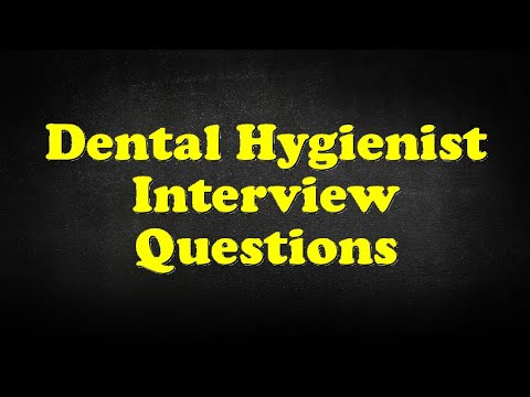 Dental Hygienist Interview Questions - YouTube